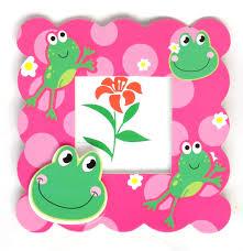 cute toads kids photo frame dholdhamaka com