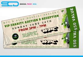 party ticket template