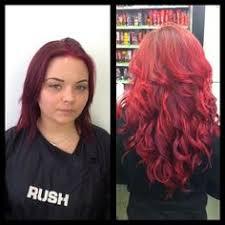racoon hair extensions bright hair and custom colored individual keratin bond
