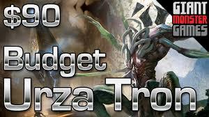 budget modern deck urza tron 90 youtube