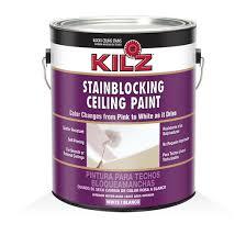kilz color change ceiling paint primers specialty paints