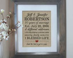 10 year anniversary gifts 10 year wedding anniversary gifts wedding ideas