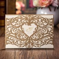 wedding invitations laser cut wholesale laser cut wedding invitations buy cheap laser cut