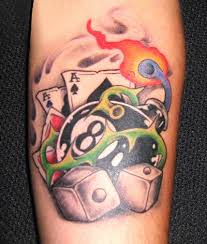 ball tattoo designs and eight ball tattoo meaning