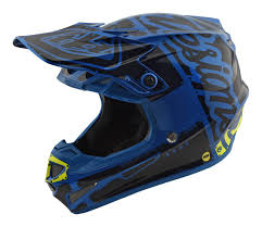 childrens motocross helmets 2018 troy lee designs se4 mips team factory blue kids motocross