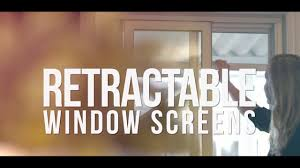 Marvin Retractable Screen Retractable Window Screens By Phantom Screens Youtube