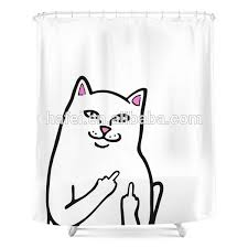 Shower Curtain With Matching Window Curtain Cat Print Shower Curtains Source Quality Cat Print Shower Curtains