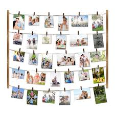 hanging picture amazon com love kankei wood picture photo frame for wall decor