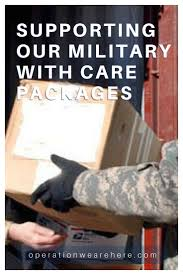 sick care package for support for deployed home front families veterans