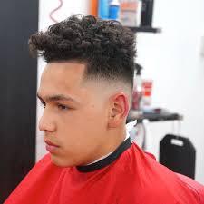 fade haircut styles for curly hair fade haircut curly hair