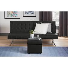 simpli home dover midnight black storage ottoman axcot 235 bl