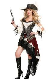 Pirate Halloween Costumes Girls Lovely Romatic Renaissance Women Wench Pirate Costume Med
