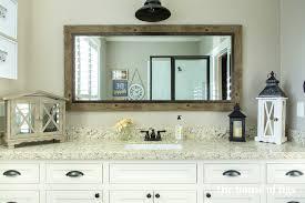 bathroom fascinating get farmhouse look home inspiration
