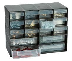 plastic 16 multi drawer storage cabinet organiser for home garage