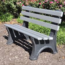 recycled outdoor benches simple outdoor com
