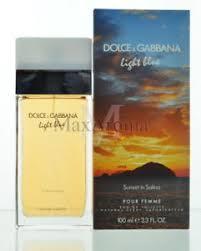 dolce and gabbana light blue 3 3 oz amazon dolce and gabbana light blue sunset in salina for women edt spray
