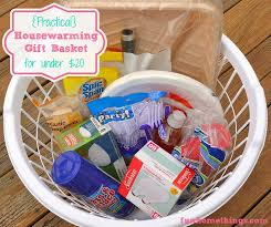 housewarming basket practical housewarming gift basket for 20 home things