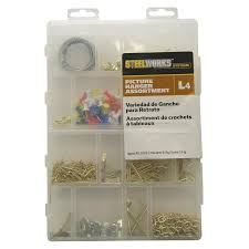 Hanging Pictures by Shop Hillman Picture Hanging Kit At Lowes Com