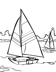 sailing coloring page handipoints