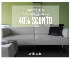 cassina divano occasioni cassina divano met design piero lissoni galliano