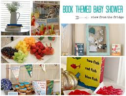 theme baby shower book themed baby shower view from the fridgeview from the fridge