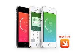 speedometer ios app template written in swift