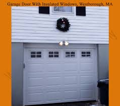 garage glass doors garage door with frosted insulated glass windows