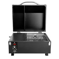 table top electric smoker ptg travel portable cing grill traeger wood fired grills