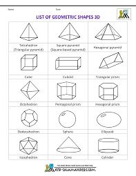 math geometric art shapes clipart list of geometric shapes 3d bw