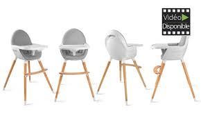 chaise pour chaise haute bébé kinderkraft groupon