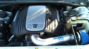 mopar cold air intake on my 2006 dodge charger r t youtube