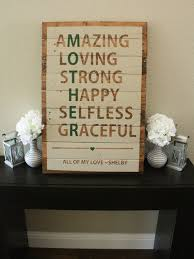 Wood Craft Gifts Ideas by Reclaimed Wood Mother Sign By Wtgdesigns On Etsy 60 00 Crafts