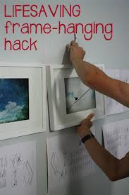 how to hang picture frames that have no hooks 673 best home organizing tips images on pinterest home ideas