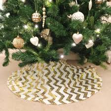 gold chevron sequin christmas tree skirt u2013 the sweet party shop