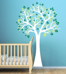large tree wall decal for nursery playroom baby wall decals large tree wall decal for nursery playroom kids wall stickers nature theme 92 00
