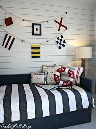 Nautical Themed Bedding Nautical Big Boy Room Reveal The Lilypad Cottage