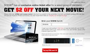 cineplex online cineplex canada exclusive scene members offers save 2 off your