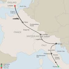 Alitalia Route Map by Italy Tours Globus Italy Vacation Packages