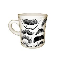 Coffee Mugs For Guys Great Moustaches Mug Funny Coffee Cup Uncommongoods