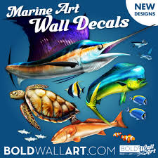 sport fish wall decals archives bold wall art