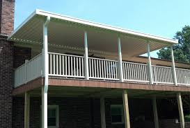 aluminum awnings residential deck covers nc u0026 sc
