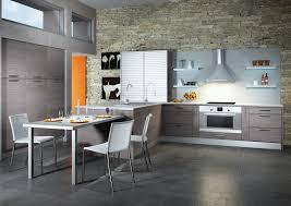 cuisine bois gris moderne cuisine bois gris excellent cuisine bois carrelage gris with