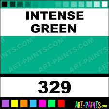 intense green artist watercolor paints 329 intense green paint