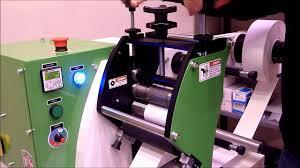 mmr 140 label die cut machine youtube