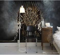 game of thrones home decor game of thrones wallpaper iron throne wall murals custom photo