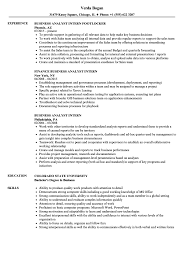 business analyst resume word exles for the root chron business analyst intern resume sles velvet jobs