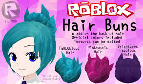 is there pink hair in roblox mmd parts roblox hair buns by rblx2mmd on deviantart