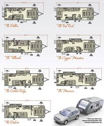 camper floor plans houses flooring picture ideas blogule rv travel