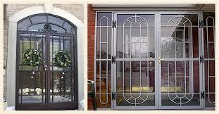 Secure French Doors - security doors detroit security screen doors security windows