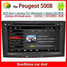 peugeot home 2 din 7 inch peugeot 5008 car dvd player with gps navigation radio
